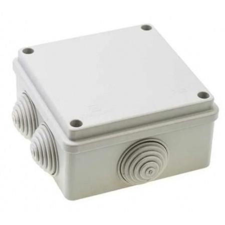 Распаячная коробка 100*100*50мм Greennel IP55 наружного монтажа серая