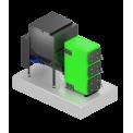 Автоматические котлы ВСКЗ Термит на опилках, щепе и угле.